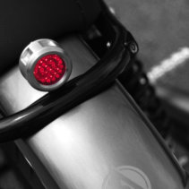 Revolver Universal LED Motorcycle Tail Light