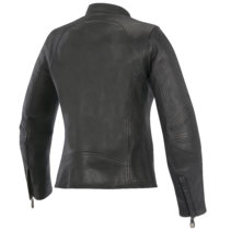shelley leather jacket back oscar alpinestars analog motorcycles