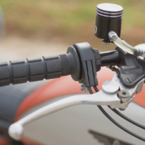 Oury Road Grips Black Super Scrambler